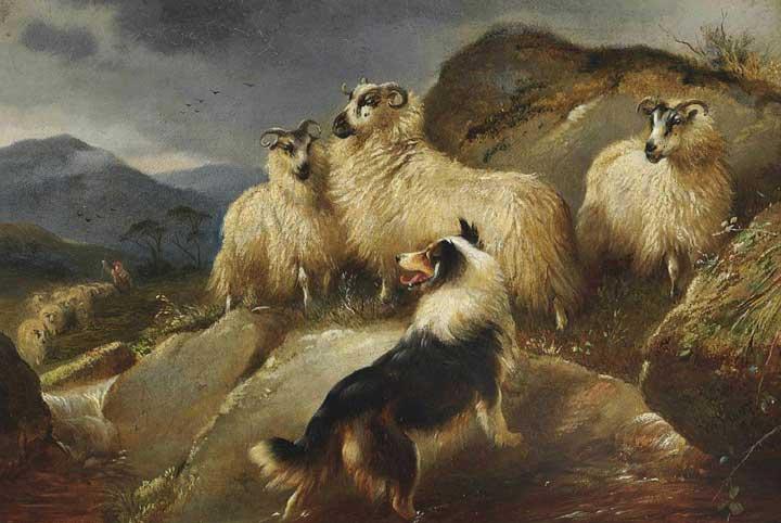 Walter Hunt Oil Paintings